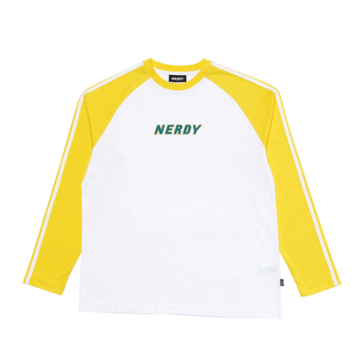 Raglan Long Sleeve T-shirt_Yellow