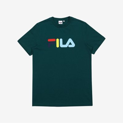[FILA] 온라인단독 MULTI-COLOR LOGO TEE (FE2RSB5104X_DGR)