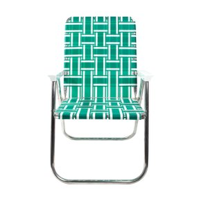 Deluxe Chair Green and White