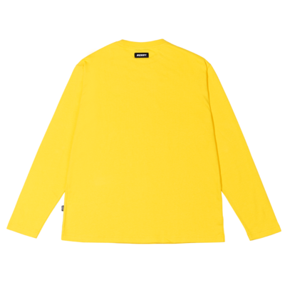 Arch Logo Long Sleeve T-shirt Yellow
