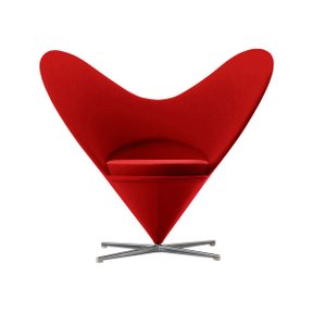 비트라  1/6 MINIATURES HEART SHAPED CONE CHAIR