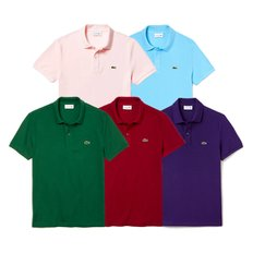 남성 슬립핏 폴로 반팔티셔츠 5COLOR (LACOSTE SHORT SLEEVE SLIM FIT PIQUE POLO PH4012)