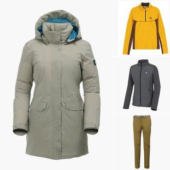 [센터폴][센터폴] 겨울 이월 나들이룩 모음 / 티셔츠, 바지, 아우터
