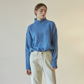 CUTTING TURTLE SWEATER_BLUE (4314382)