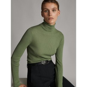 WOOL HIGH NECK SWEATER 05609520514