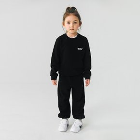 [골스튜디오] (KIDS)BACK LOGO SWEATSHIRTS - BLACK (맨투맨)