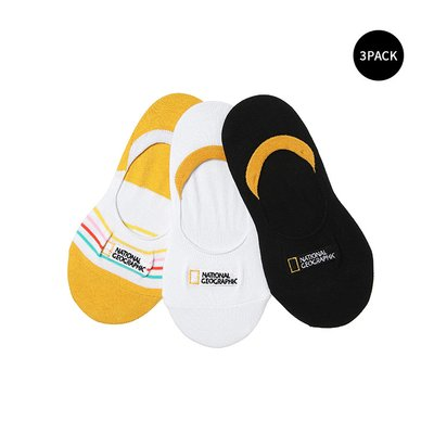 N205KSO050 키즈페이커삭스 3PACK MIX (WHITE,BLACK,YELLOW)
