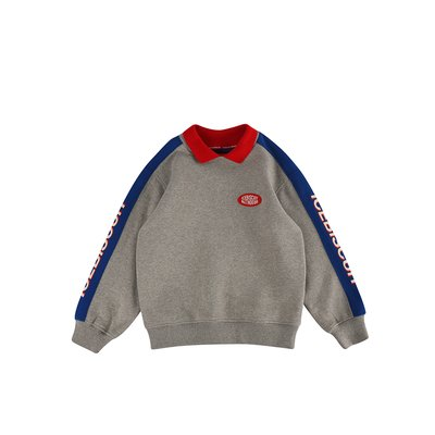 [20% SALE] Icebiscuit collar point sweatshirt (기모O)