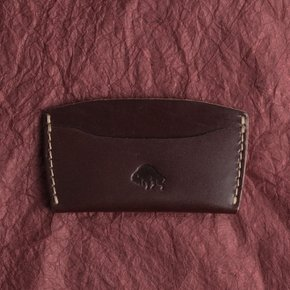 [에스라아서]No.3 Wallet - Burgundy