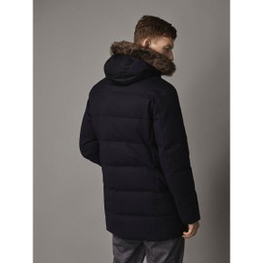 WOOL JACKET WITH DETACHABLE HOOD 03427109401