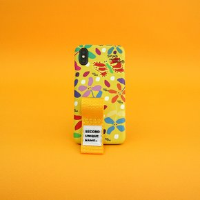 SUN CASE GRAPHIC FLOWER YELLOW YELLOW(FINGER)
