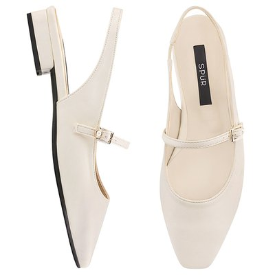 슬링백 PS8010 Maryjanes sling back 아이보리