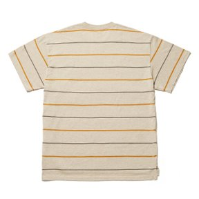MRGTM X HANG TEN BORDER TEE - BEIGE