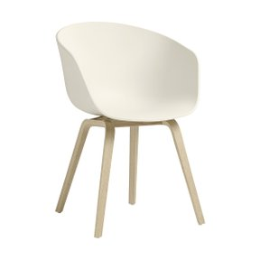 AAC22 CHAIR CREAM WHITE