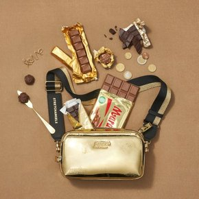 스트레치엔젤스[파니니백]PANINI mix pattern press bag(Gold)(SUMR02911)
