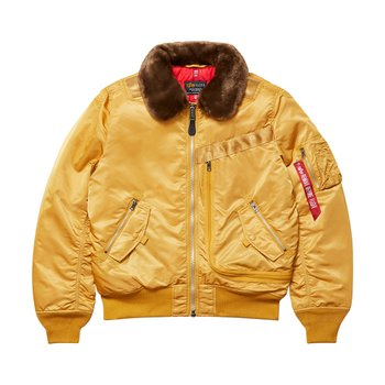 INJECTOR MOD FLIGHT JACKET VICTORY YELLOW
