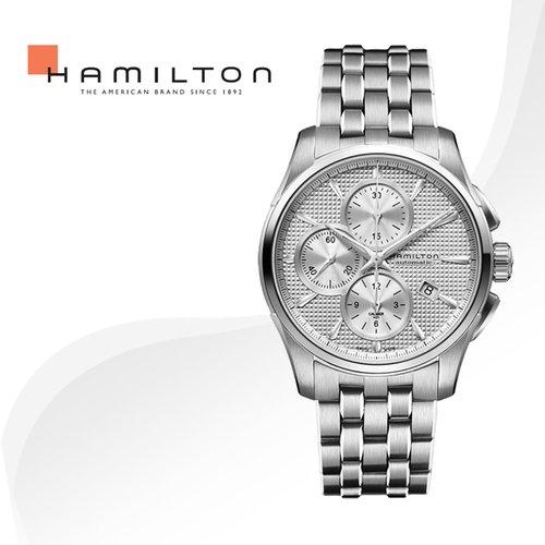 312126b3692 [병행수입]HAMILTON 해밀턴 H32596151 재즈마스터 메탈밴드 시계