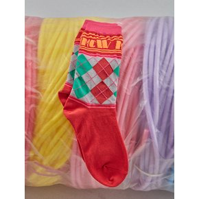 [MIMICAWE] MMCW ARGYLE SOCKS