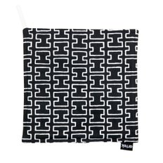 POT HOLDER H55, Black/White