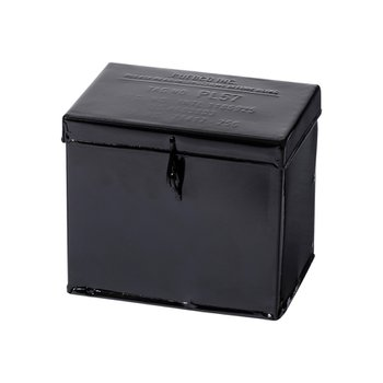 STEEL CONTAINER W/PARTITION Small Black