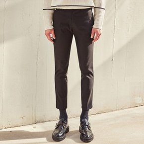 FEEL GOOD WOOL SPAN SLACKS (BLACK)