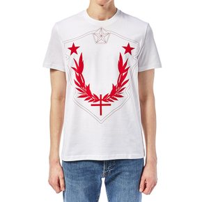 Givenchy Men`s T shirt BM703W3Y0L 112