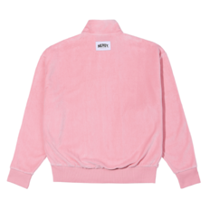 Velour Track Top Pink