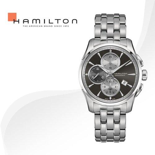6588dda53bb [병행수입]HAMILTON 해밀턴 H32596181 재즈마스터 메탈밴드 시계