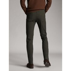 SLIM FIT DENIM-LIKE  MELANGE TROUSERS 00032132500