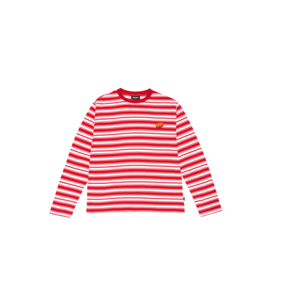 Stripe T-shirt Red (21070_RED)