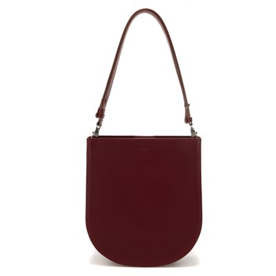 FENNEC HALFMOON HOBO BAG - WINE