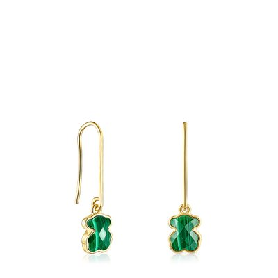 [최초출시가 199,000원][SSG 단독]Long Silver Vermeil and Malachite Icon Color Earrings/귀걸이/015433570