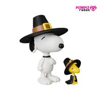 [KINKI ROBOT]UDF PEANUTS SERIES5 PILGRIM SNOOPY AND WOODSTOCK(1710002)