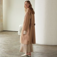 ★SSG특별혜택가★[뮤제] Manet Cashmere Blended Wool Coat_Creamy Camel