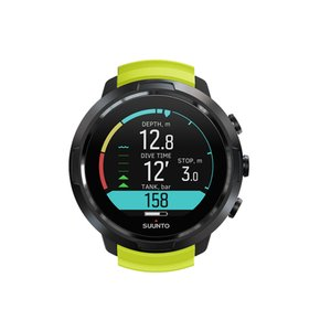 (본사공식) SUUNTO D5 BLACK LIME WITH USB CABLE SS050191000