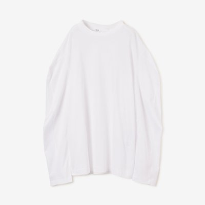 TOGA 토가 SILKET JERSEY LONG SLEEVES WHITE TA92-JK116-E