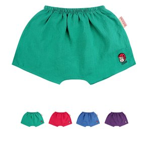 Colorful summer linen shorts