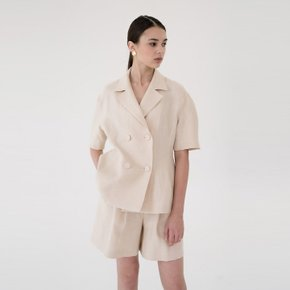 [15%할인가][블랭크공삼]linen summer jacket (light beige)