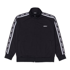 Big N Tape Track Top Black