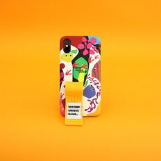 SUN CASE GRAPHIC FRUIT WHITE YELLOW(FINGER)
