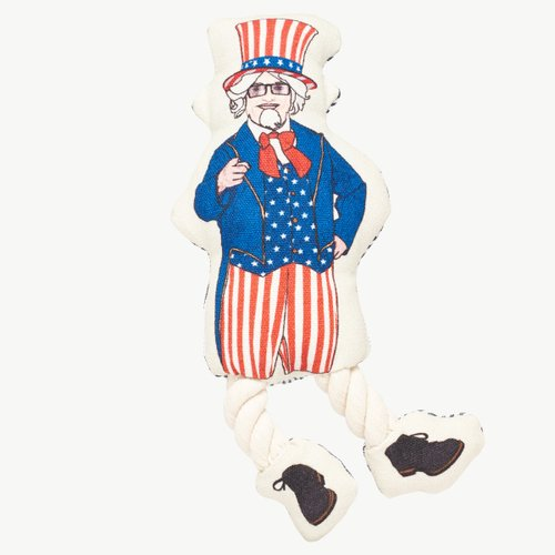 CRAZY ROPE TOY 2 UNCLE SAM (애견용)