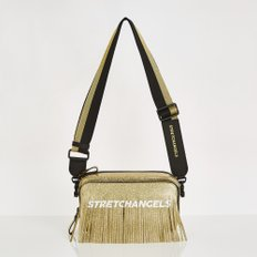PANINI metalic tassel bag (Gold)
