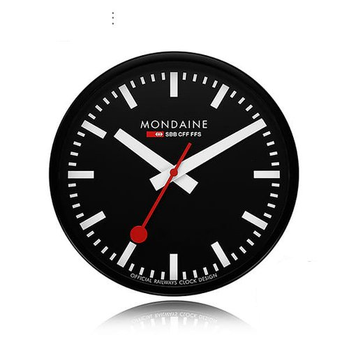 MONDAINE 몬데인 A990.CLOCK.64SBB Wall Clock 벽시계