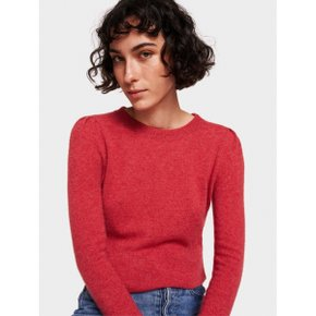 W+W Cashmere Puff Shoulder Crewneck