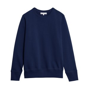 346 CREW-NECK SWEATSHIRT INK BLUE