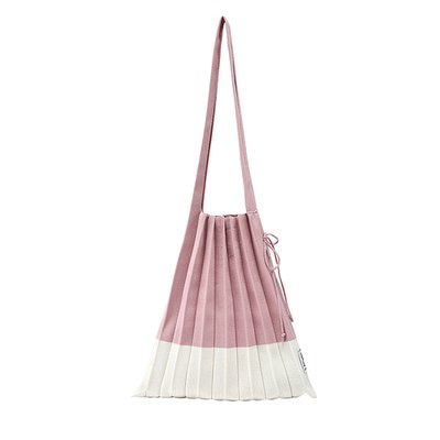 [조셉앤스테이시] Lucky Pleats Knit M Strawberry Milk