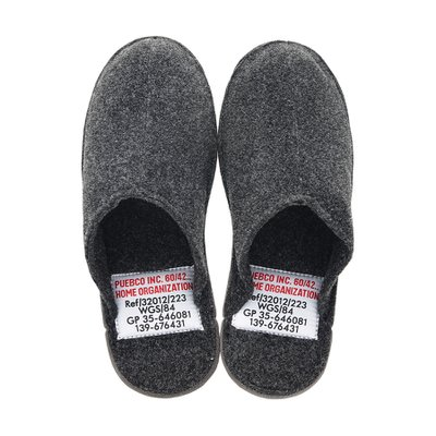 SLIPPER Large Gray