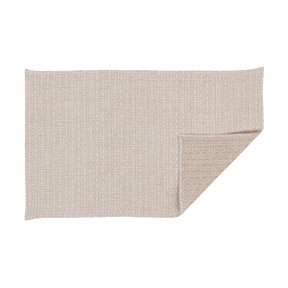 TEA TOWEL H55, White/Natural