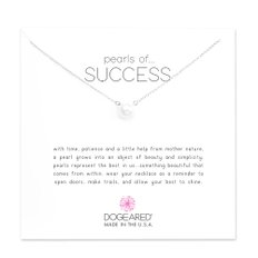 Pearls of Success 진주 목걸이 실버 PS1019