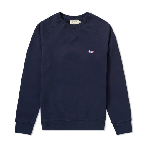 [PRE-ORDER] 20SS SWEATSHIRT TRICOLOR FOX PATCH NAVY MEN AM00302KM0002